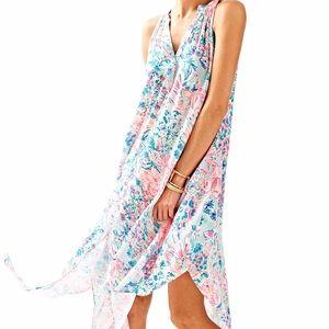 EUC XS Lilly Pulitzer Monica Beach Dress in Gypsea